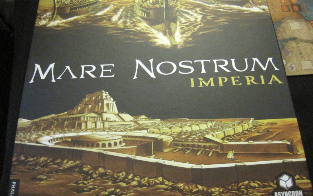Recenzje: Mare Nostrum Imperia
