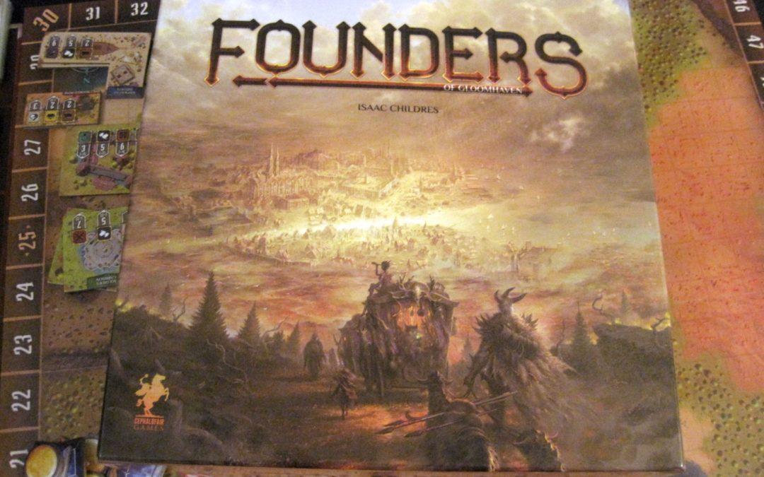 Recenzja: Founders of Gloomhaven